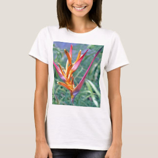 Enhanced Hawaiian Heliconia Flower T-Shirt