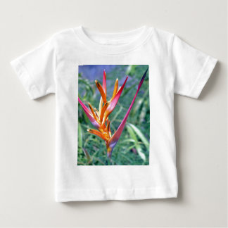 Enhanced Heliconia Flower Baby T-Shirt