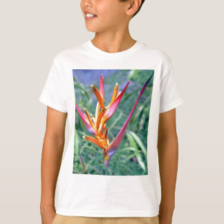 Enhanced Heliconia Flower T-Shirt