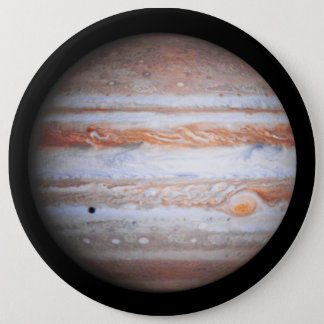 ENHANCED image of Jupiter Cassini flyby NASA Button
