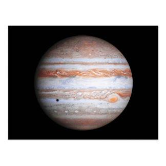 ENHANCED image of Jupiter Cassini flyby NASA Postcard