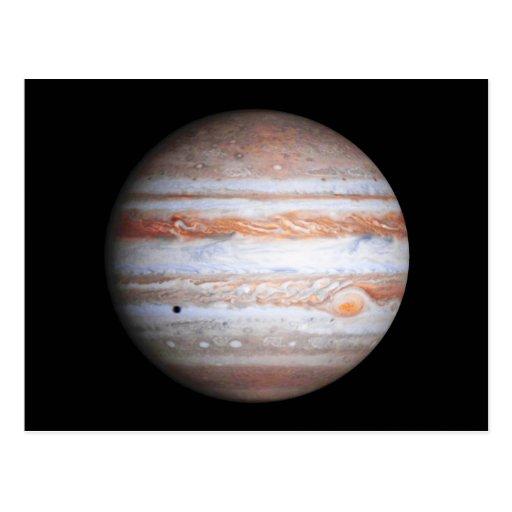 ENHANCED image of Jupiter Cassini flyby NASA Post Card