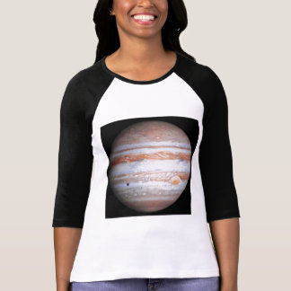 ENHANCED image of Jupiter Cassini flyby NASA T-Shirt