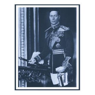 (enhanced) King George VI of the United Kingdom Postcard