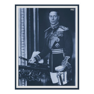(enhanced) King George VI of the United Kingdom Poster
