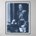 (enhanced) King George VI of the United Kingdom Print