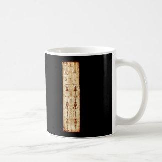 ENHANCED Shroud of Turin full image Jesus Christ Classic White Coffee Mug