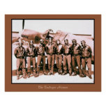 (enhanced) The Tuskegee Airmen (20 by 16 inch) Poster