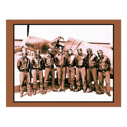 (enhanced) The Tuskegee Airmen Postcard