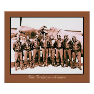 (enhanced) The Tuskegee Airmen Poster