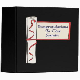 Enhorabuena a nuestros graduados