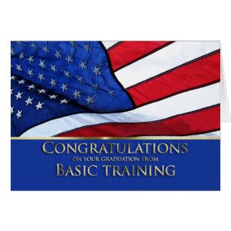 Enhorabuena América de la graduación de la Tarjeta De Felicitación