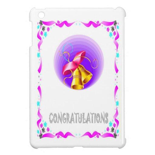 enhorabuena, campanas iPad mini carcasa