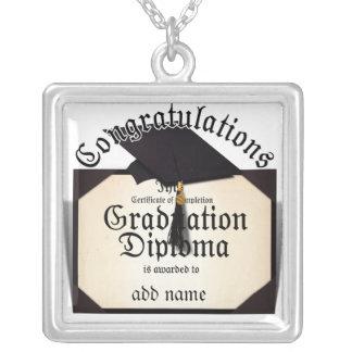 ¡Enhorabuena! Certificado de diploma de la realiza Colgante Personalizado