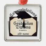 ¡Enhorabuena! Certificado de diploma de la realiza Ornamento De Navidad