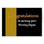 Enhorabuena CONOCIDA DE ENCARGO - grado de oficio  Felicitación