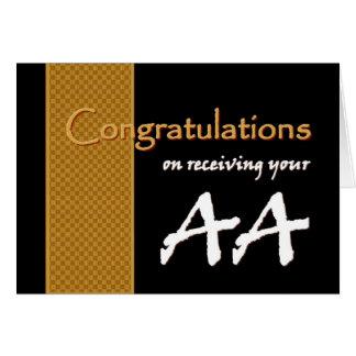 Enhorabuena CONOCIDA DE ENCARGO - grado de socios Tarjeta De Felicitación