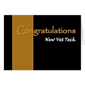 Enhorabuena CONOCIDA DE ENCARGO - tecnología del Tarjeta De Felicitación
