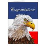 Enhorabuena de Eagle Tarjeta