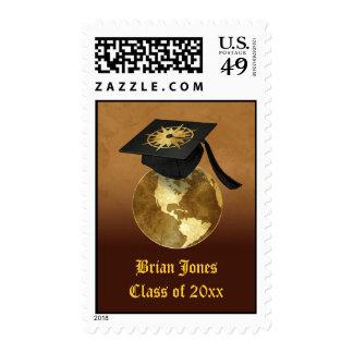 Enhorabuena de la graduación sello