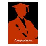 Enhorabuena de la graduación tarjeton