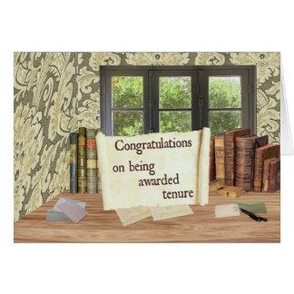 Enhorabuena del arrendamiento tarjeta de felicitación