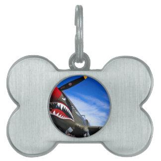Enhorabuena del destino del piloto de los aviones placa de nombre de mascota
