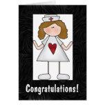Enhorabuena del oficio de enfermera felicitaciones