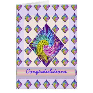 Enhorabuena: El texto Editable al año posee el sal Tarjeta De Felicitación