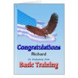 Enhorabuena en la graduación de formación básica felicitaciones