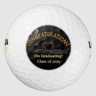¡Enhorabuena en la graduación! Pelota de golf del