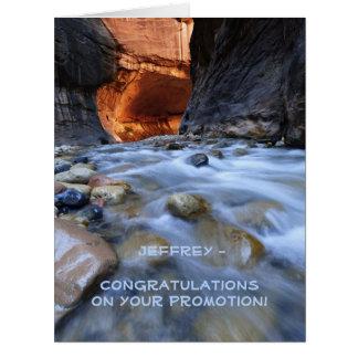 Enhorabuena en la promoción todos nosotros, ENORME Tarjeta De Felicitación Grande