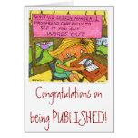 ¡Enhorabuena en la publicación! Felicitación