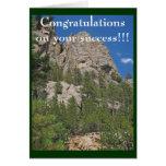 Enhorabuena en su éxito… - Modificado para Tarjeta De Felicitación