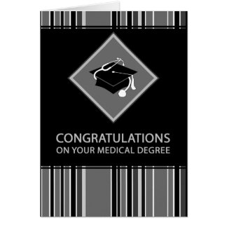 enhorabuena en su grado médico: rayado felicitaciones