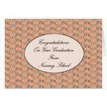 Enhorabuena en su graduación de cuidar el Sc Felicitaciones