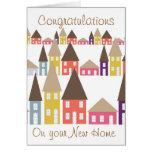 Enhorabuena en su nuevo hogar felicitación