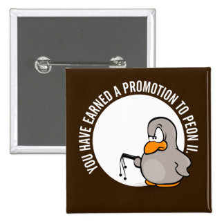 Enhorabuena en su promoción bien ganada pin