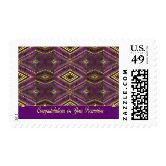 enhorabuena en usted promoción sellos