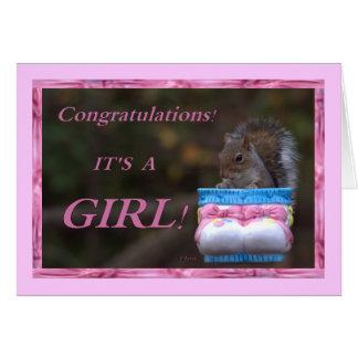 Enhorabuena… ¡Es un chica! Felicitaciones