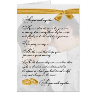 Enhorabuena gay del boda dos novios tarjeta de felicitación