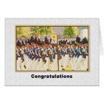 Enhorabuena, graduación de West Point Tarjeta