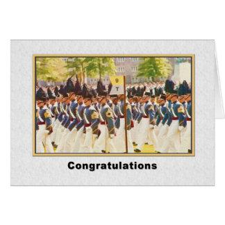 Enhorabuena, graduación de West Point Tarjeta De Felicitación