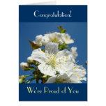 ¡Enhorabuena! Las tarjetas somos orgullosos de ust