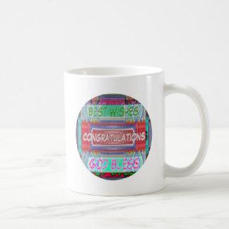 ENHORABUENA - muchas maneras de decirlo Taza De Café