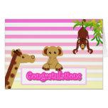 Enhorabuena, niña - modificada para requisitos tarjeta de felicitación
