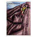 ¡ENHORABUENA! … (para él) Tarjeta De Felicitación