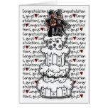 Enhorabuena - pares gay del boda felicitacion