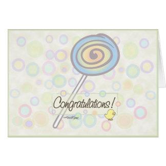 ¡Enhorabuena! Tarjeta De Felicitación