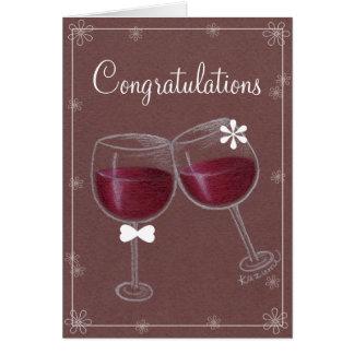 ¡Enhorabuena!! Tarjeta de felicitación